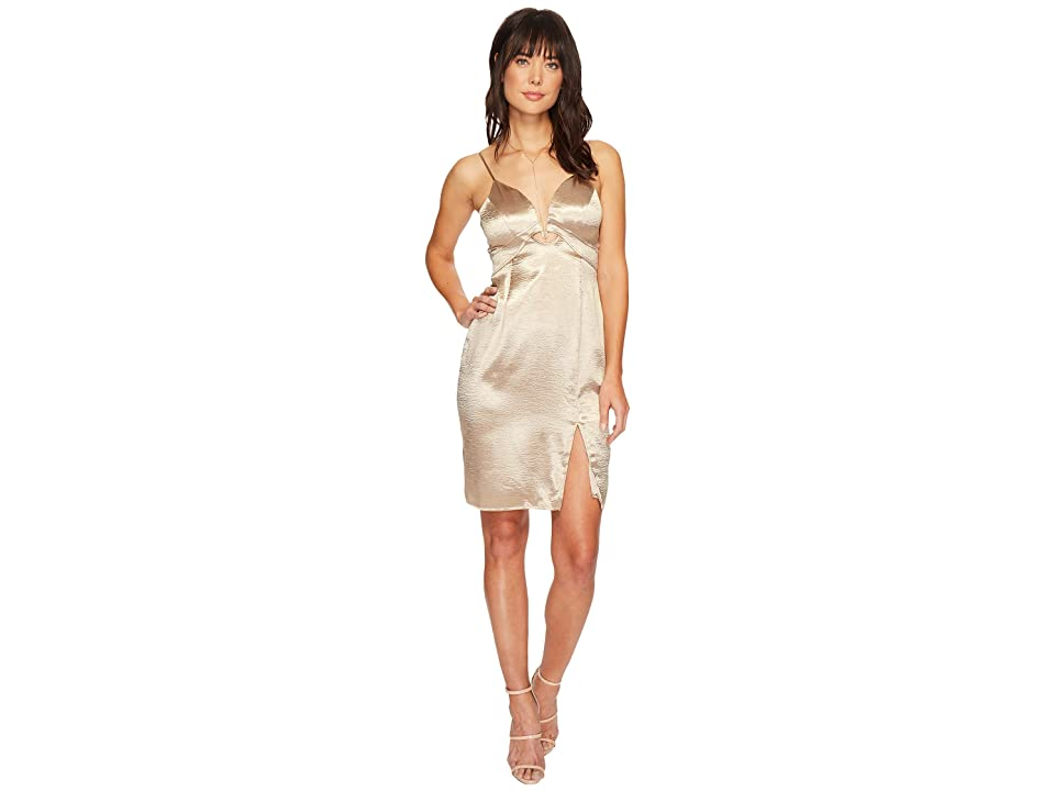 ASTR the Label Amira Dress (Champagne) Women