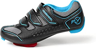 Flywheel Sports Indoor Cycling Shoes with LOOK Delta Cleats, Peloton Compatible, Womens and Mens, EU Size 39