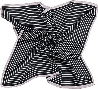 SOJOS Silk Like Scarf Satin Hair Scarf Fashion Neck Scarfs for Women 27'' x 27'' SC303