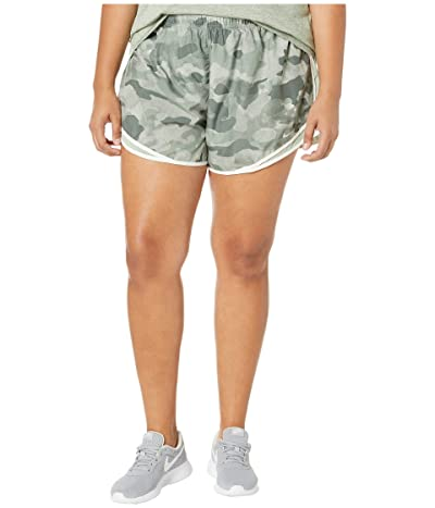 Nike Tempo Shorts Uni Print (Sizes 1X-3X) (Juniper Fog/Jade Horizon/Wolf Grey) Women