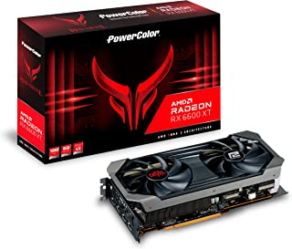 POWERCOLOR AMD Radeon RX6600XT搭載 グラフィックボード GDDR6 8GB 【国内正規代理店品】 AXRX 6600XT 8GBD6-3DHE/OC