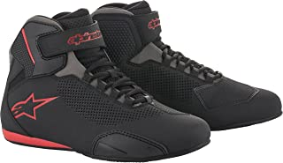Alpinestars Men's 2515618131105 Shoe (Black/Grey/Red, Size 10.5)