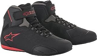Alpinestars Men's 2515618131105 Shoe (Black/Grey/Red, Size 10.5)