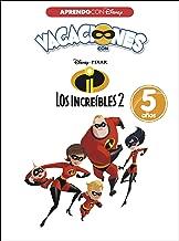 Vacaciones con Los Increíbles 2. 5 años (Aprendo con Disney)