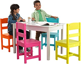 Highlighter Table & 4 Chair Set