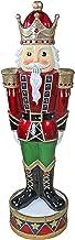 The Nutcracker Figures - Illuminated Bavarian-Style LED Christmas Nutcracker Soldier Statue - LED Holiday Decor Statue