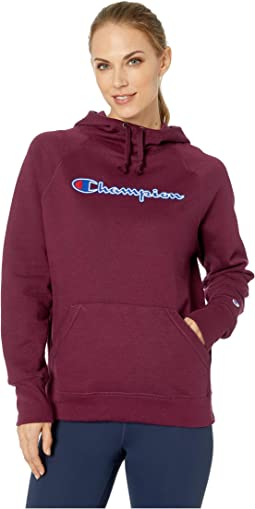 Powerblend® Fleece Pullover Hoodie - Applique Y07461