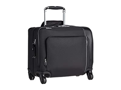 Tumi Arrive Compact 4 Wheeled Brief (Black) Briefcase Bags