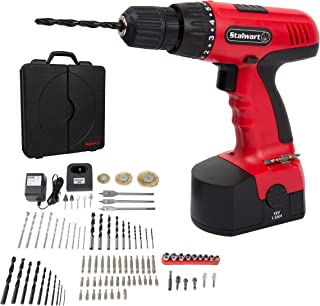 Cordless Drill Set- 89 Piece Kit, 18-Volt Power Tool with Bits, Sockets, Drivers, Battery..