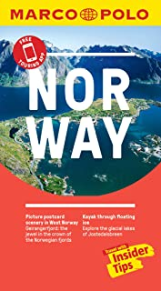 Norway Marco Polo Pocket Travel Guide - with pull out map