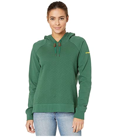 Columbia College Oregon Ducks Collegiate Harpertm Hoodie (Forest) Women