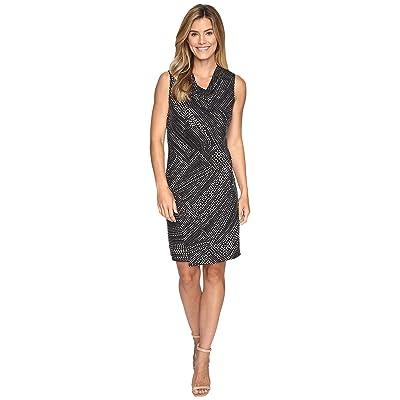 NIC+ZOE Diamond Dot Dress (Multi) Women
