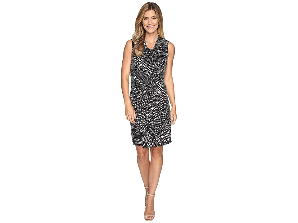 NIC+ZOE Diamond Dot Dress (Multi) Women