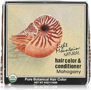Hair Color & Conditioner- Mahogany Light Mountain 4 oz Powder