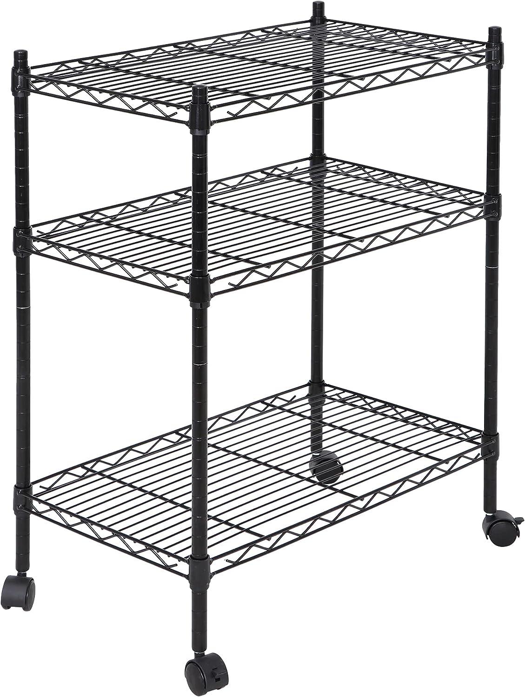 SUPER Genuine Free Max 51% OFF Shipping DEAL 3-Shelf Adjustable Heavy Shelving Storage Wire Duty U