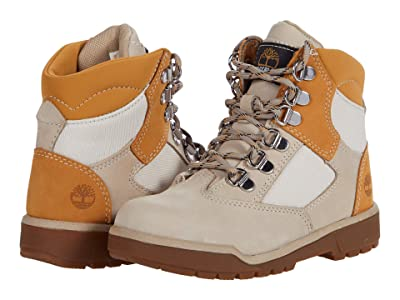 Timberland Kids 6 Leather/Fabric Field Boot (Little Kid) Boys Shoes