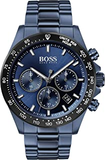 Hugo Boss Mens Quartz Watch, Chronograph Display and Stainless Steel Strap 1513758
