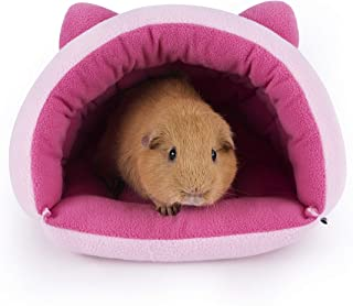 Niteangel Guinea Pig Cave Beds Cozy House Bedding for Rats Chinchilla Degu Ferrets Hedgehog