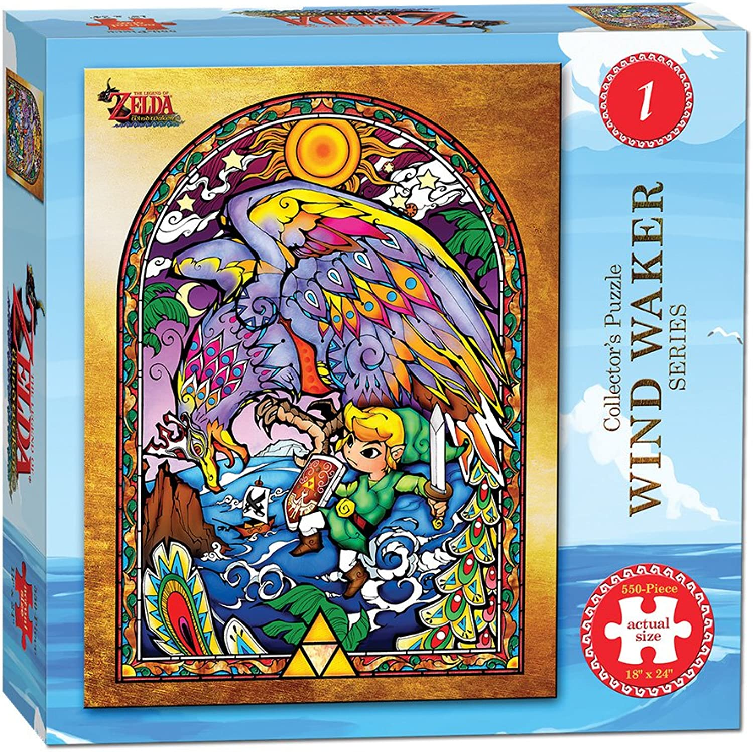 Unbekannt Wind Waker Collector's Puzzle-Serie von The Legend of Zelda.