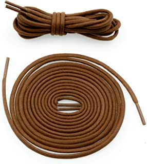 COOL LACE Round Waxed Shoelaces Shoe Laces Bootlaces