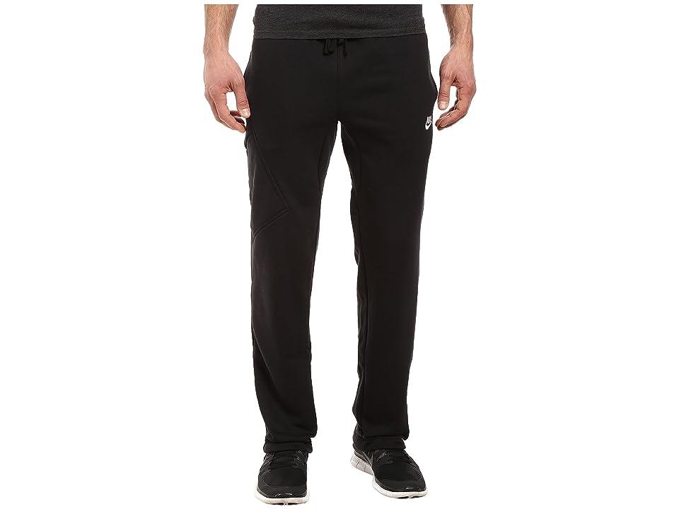 Nike Club Fleece Cargo Pant (Black/White) Men