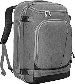 eBags TLS Mother Lode Weekender Convertible Carry-On Travel Backpack - Fits 19 Inch Laptop - (Heathered Graphite)