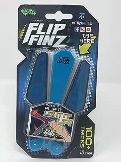 Hot 2018 Flip Finz Yulu Relaxing Toy - Spin It, Twirl It, Light It Up - Children's interactive toys (Random Colors: Blue, Green, Red)