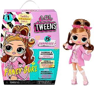 LOL Surprise Tweens Muñeca de Moda Fancy Gurl - con 15 sorpresas, Ropa y Accesorios. Muñeca de colección para niños a Part...
