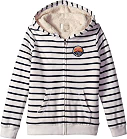 All My Life Sherpa Zip Hoodie (Big Kids)