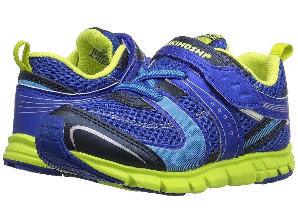 Tsukihoshi Kids Velocity (Toddler/Little Kid) (Blue/Lime) Boys Shoes