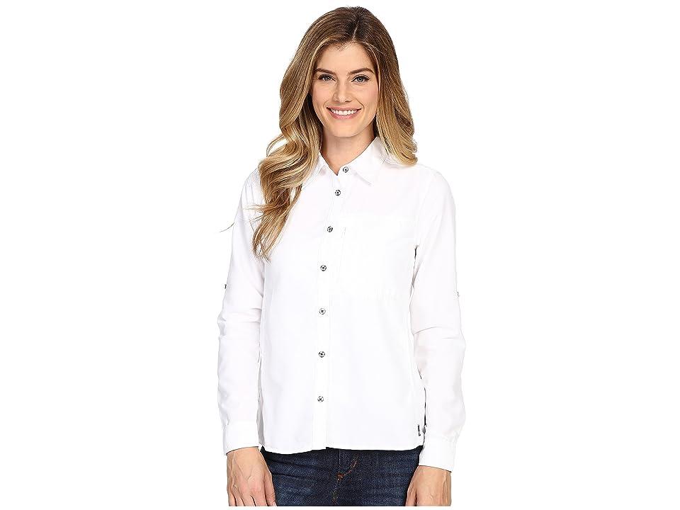 Mountain Hardwear Canyontm Long Sleeve Shirt (White) Women