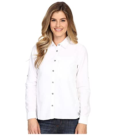 Mountain Hardwear Canyontm Long Sleeve Shirt (White) Women
