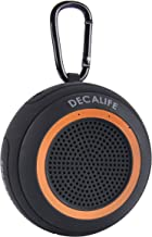 DECALIFE ST-1 Portable Wireless Bluetooth Speaker IPX7 Waterproof that Floats- Mega Bass and Loud Good HD Sound w/ Micro SD Card Slot, MP3, Mic, for Pool, Beach, Shower, and Indoors