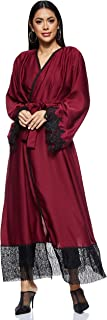 Nukhbaa Women's Abaya, Red