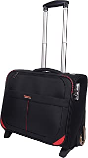 MURANO Polyester 14 inches Blue Softsided Check-in Luggage (9120008_J)