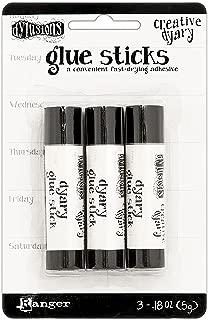 Ranger Dylusions Creative Dyary Mini Glue Sticks 3/Pkg