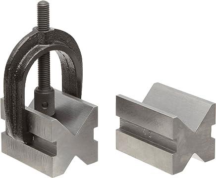 "TTC MVB-0544 3-5//8/"" x 1-7//8/"" x 1-7//8/"" All Angle V-Block /& Clamp"
