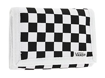 Vans Slipped Trifold Wallet (Black/White) Bill-fold Wallet