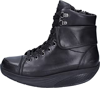 Boots Womens Leather Black