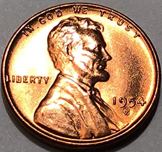 1954 s lincoln wheat penny