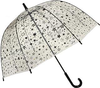 comprar comparacion SMATI Paraguas Largo ninos Transparente Estrellas Forma de Campana