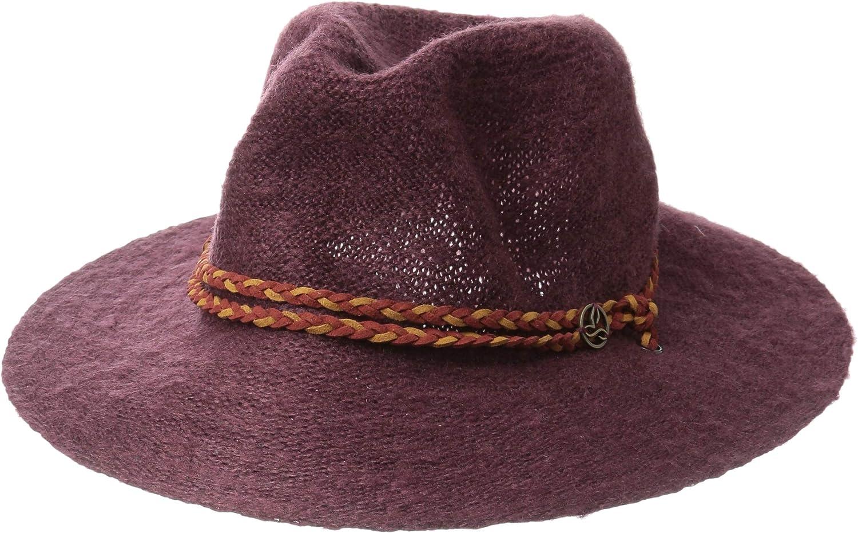 Prana Woherren Tempo Travel Hat Cold Weather Hats, One Größe, schwarz Cherry