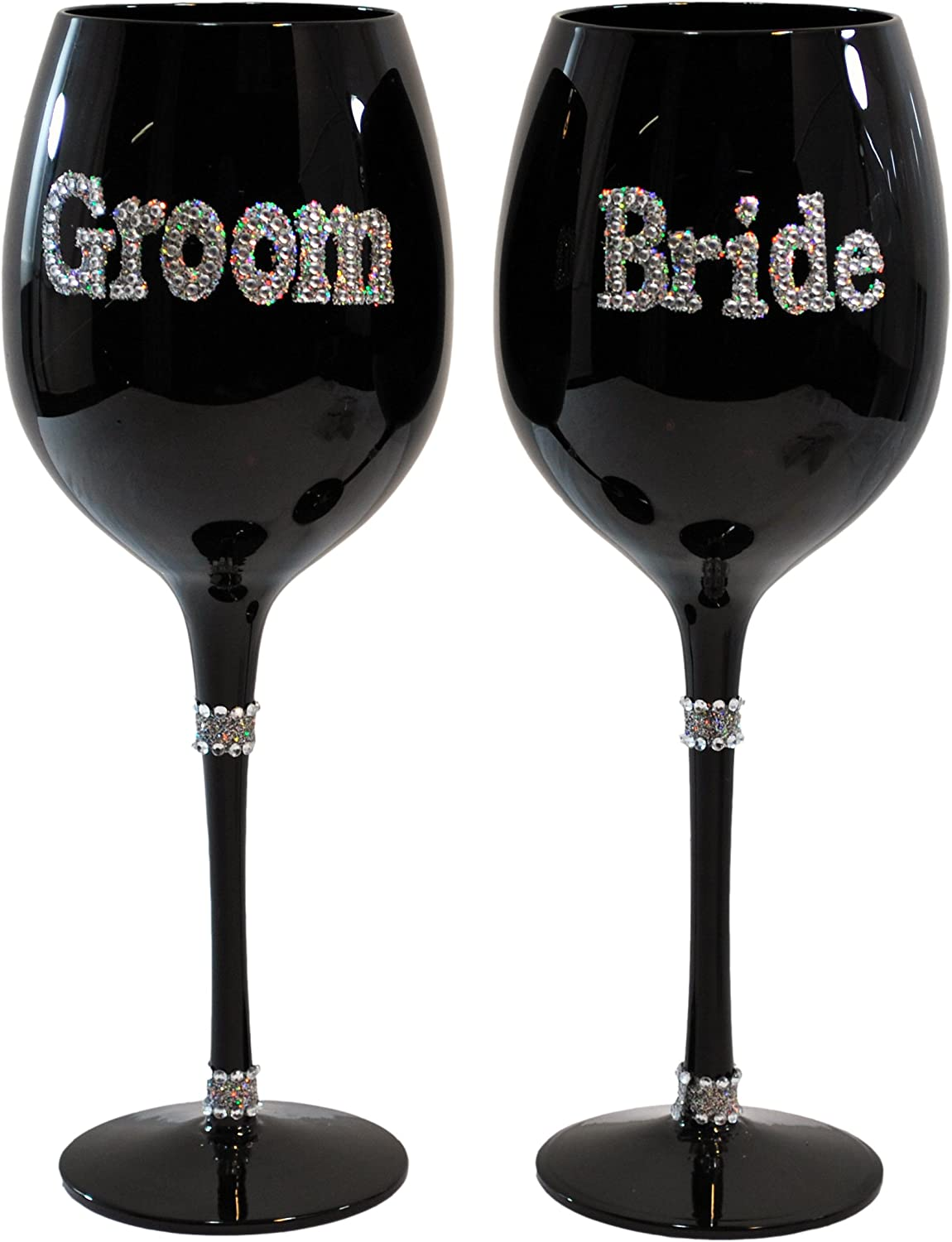 Ganz Special Campaign Bride and Groom Glass Long-awaited Set Wine