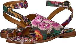 Flower Jacquard Sandal