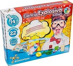 Science4you-5600983608658 Ciencia Explosiva Kaboom para Niños +8 Años, Multicolor (1) , color/modelo surtido