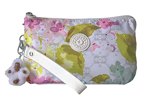 Kipling Creativity XL Pouch Luscious Flower White Free Shipping Finishline Perfect Cheap Online ZoqMq
