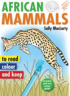 African Mammals (Read, colour and keep)