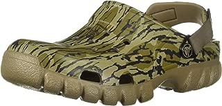 Crocs Unisex-Adult 205686-260 Offroad Sport Mossy Oak Bottom Clog Brown Size: