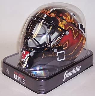 New Jersey Devils Franklin Sports Mini Hockey Goalie Mask - NHL