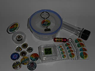Geocache Container Set - Five Piece DIY Containers with Trade Items Log Sheets